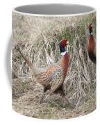Pair Of Roosters Coffee Mug