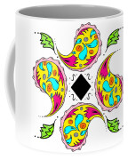 Paisley Flower Abstract Viii Coffee Mug