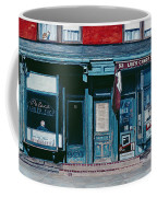 Palace Barber Shop And Lees Candy Store Coffee Mug