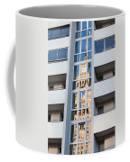 Palace Of Culture And Science Abstract Reflection Coffee Mug by Artur Bogacki