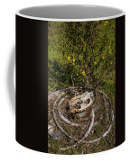 Palacios Texas Pulley Wire And Flowers Coffee Mug