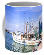 Palacios Texas Shrimp Boat Lineup Coffee Mug