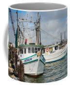 Palacios Texas Two Boats In View Coffee Mug
