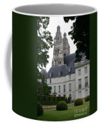 Palais In Tours With Cathedral Steeple Coffee Mug