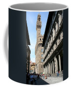 Palazzo Vecchio And Uffizien Coffee Mug