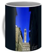 Palazzo Vecchio Clock Tower Coffee Mug
