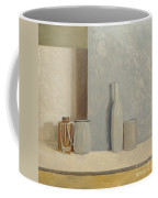 Pale Grey And Blue  Coffee Mug