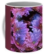 Pale Moon Flower Orb Coffee Mug