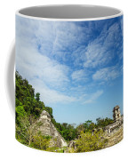 Palenque Temples Coffee Mug
