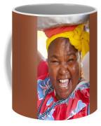 Palenquera In Cartagena Colombia Coffee Mug