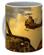 Palette Of The Aviator Coffee Mug