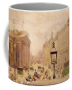 Pall Mall From The National Gallery Coffee Mug