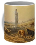 Pallas Athena And The Herdsmans Dogs Coffee Mug