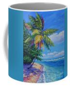 Palm At The Water's Edge Coffee Mug
