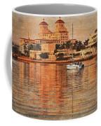 Palm Beach At Golden Hour Coffee Mug
