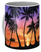 Palm Beach Sundown Coffee Mug