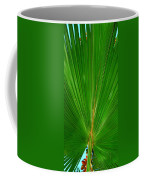 Palm Closeup Coffee Mug