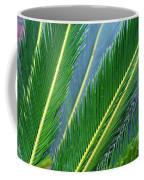 Palm Cycas Fronds Coffee Mug