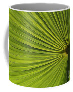 Palm Fron Abstract Coffee Mug