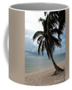 Palm On The Beach Coffee Mug