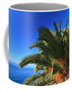 Palm Over The Sea Coffee Mug