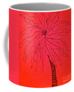 Palm Red Coffee Mug