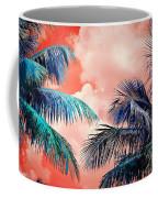 Palmscape Red Coffee Mug