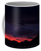 Palm Springs Airport Sunrise  Coffee Mug by John Daly