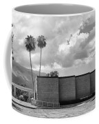 Palm Springs City Hall Bw Palm Springs Coffee Mug