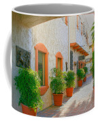 Palm Springs Courtyard Coffee Mug