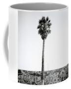 Palm Tree And Graffiti Coffee Mug