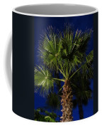 Palm Tree At Night Coffee Mug