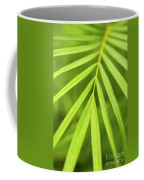Palm Tree Leaf Coffee Mug