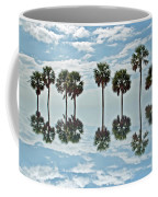 Palm Tree Reflection Coffee Mug