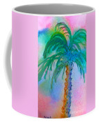 Palm Tree Study Coffee Mug