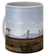 Palm Trees In Elche Coffee Mug