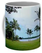 Palm Trees In Oahu Coffee Mug