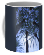 Palm Trees In The Sun Coffee Mug