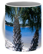 Palm Trees Of Gulf Breeze Coffee Mug
