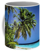 Palm Trees On Little Palm Island Filtered Coffee Mug