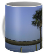 Palmetto View Of Lighthouse Coffee Mug