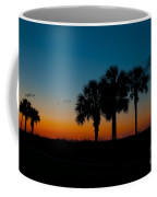 Palms At Clear Dawn Coffee Mug