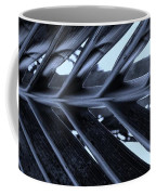 Palms E Cyan Coffee Mug