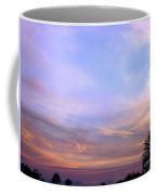 Palms In Shadow Of Sunset Coffee Mug