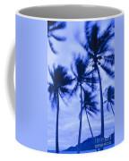 Palms In Storm Wind-bora Bora Tahiti Coffee Mug