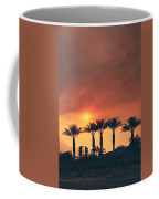 Palms On Fire Coffee Mug by Laurie Search