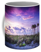 Palms On The Beach Coffee Mug by Marvin Spates