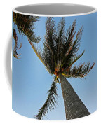 Palms Over My Head Coffee Mug