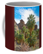 Palms Stand Tall In Andreas Canyon In Indian Canyons-ca Coffee Mug