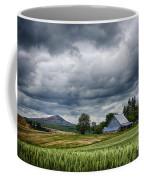 Palouse Farm And Steptoe Butte Coffee Mug